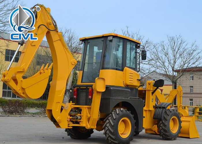 Wz30 25 Backhoe Loader 2