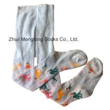 Algodão do Jacquard de alta qualidade de malha meia-calça