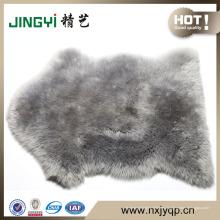 venta al por mayor de cuero genuino suave alfombra de piel de oveja australiana