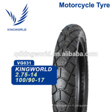 56% caoutchouc Touring 100 / 90-17 110 / 90-17 moto Tubeless Tire Choix du fournisseur