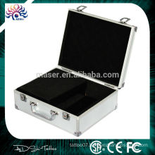 Top quality empty aluminum beauty kit Permanent makeup cosmetic case