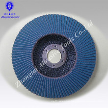 115*22mm zirconia corundum sand cloth sheet falp disc P80