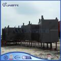 Marine construction dredging steel pontoons
