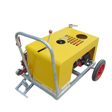 Fiber Optic Cable Pullers Fiber optic cable transported by crawler belt