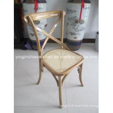 Modern Style Wood Cross Chair