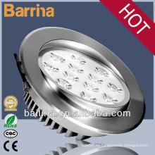 3-12 pulgadas ajustable techo led spotlight 3w