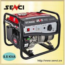 Home Use SC6000-I 50Hz 13hp Gasoline Generator