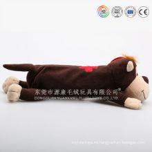 Bolso suave de la forma animal bolso de peluche de juguete caso ICTI revisó la fábrica de la felpa