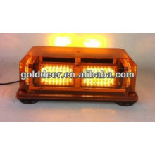 Barra de luzes LED âmbar aviso Mini (TBD02451-6)