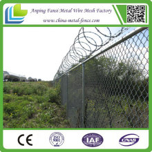 China Lieferant 6 Füße Kette Link Zaun