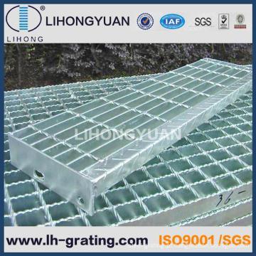 Grades de aço galvanizado serrilhado para painéis de plataforma