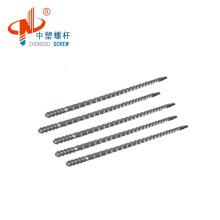 PLA ABS Filament Extruder Screw Barrel/Bimetal Single Screw for Extrusion Moulding machine