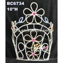 pageant large tiara crown