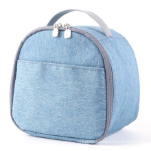 Custom  Large capacity 600D Waterproof Insulated Lunch Cooler Bag for school kids light weight outdoor baby milk cooler bag