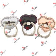 Corazón amor reutilizable pegajosa dedo titular anillo titular (SPH186)
