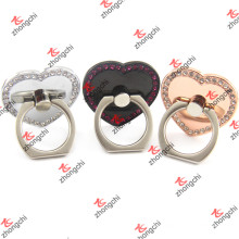 Coração amor reutilizável pegajoso dedo anelar titular por atacado (SPH186)