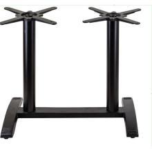 Винтажная мебель черный чугун барный стул стол б / у ножки металлическое основание и кофейные обеденные чугунные ножки стола для продажи