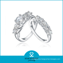 New Arrival Couple 925 Silver Jewelry Ring (R-0590)