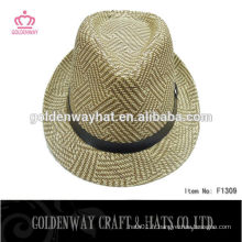 Chapeau de fedora de crochet de dame mixte