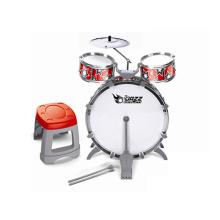 Джазовый барабан со стулом Пластмассовые игрушки Набор ударных (H9789001)
