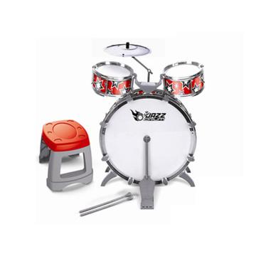 Джазовый барабан со стулом Пластиковые игрушки Drum Set (H9789001)