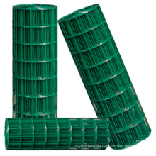 """1"""" x 2"""" pvc coated hot galvanized welded iron wire mesh for fencing"""
