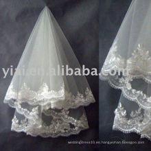¡Velo nupcial de moda de la boda de la cubierta! ! ! AN2107