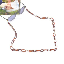 2020 2021 Custom color personality long acrylic acetate sunglasses chain necklace
