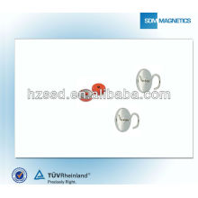 Europe standard rubber coated magnet / pot magnet