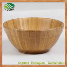 Custom Designer Natural Bamboo Soup Bowl for Dinnerware