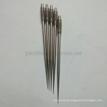 toothpick al por mayor de metal confiable diente de aleación de titanio recoge selecciones de diente de aliado de titanio de oxidación anódica