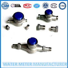 Débitmètre à eau en acier inoxydable Ss 304 en taille 15-40mm