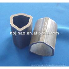 Tubos de acero sin costura triangulares y tubo de acero sin costura triangular