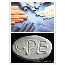 Resistência à chama CPE135A para tubo de PVC