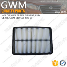 GREAT WALL HAVAL PARTS GWM SPARE PARTS AIR FILTER 1109101-K08-B1