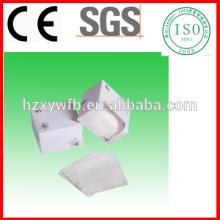 Fabricantes de almofadas de algodão cosmético removedor de maquiagem sem fiapos almofadas de algodão facial
