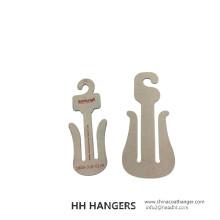 Recycled Slippers Paper Hanger OEM Cardboard Hanger