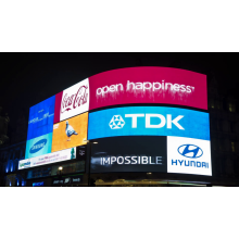 IP65 Wide Viewing Angle Outdoor Billboard LED Display