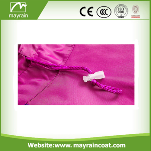 Pink Polyester Poncho