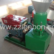 Kompaktstruktur Diesel Holz Pellet Mühle