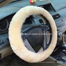 La cubierta 2016 del volante de las lanas / el coche auto adorna