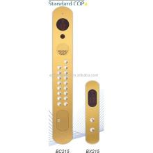 Elevator car operation panel, Standard COP