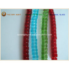 Abaci Shape Glass Bead