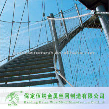 Low price High quality Stainless steel wire rope mesh net