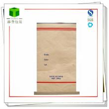 Iron Oxide Yellow Seam Bottom Paper Bag