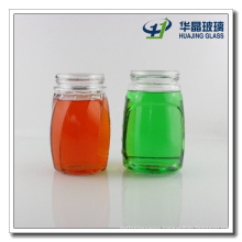 500ml Customized Glass Mason Jar Glass Canned Food Jar