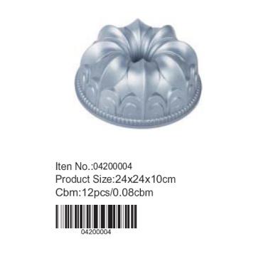 Круглые алюминиевые торт плесень
