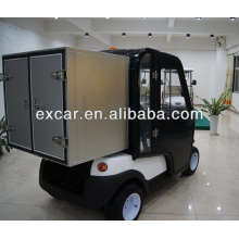Samll cargo 2 seats electric golf cart made by Excar
