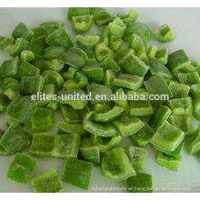 IQF green pepper dice