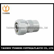 Männlicher geschmiedeter Messinganschluß für Aluminiumplastik-zusammengesetztes Rohr (YS3304)